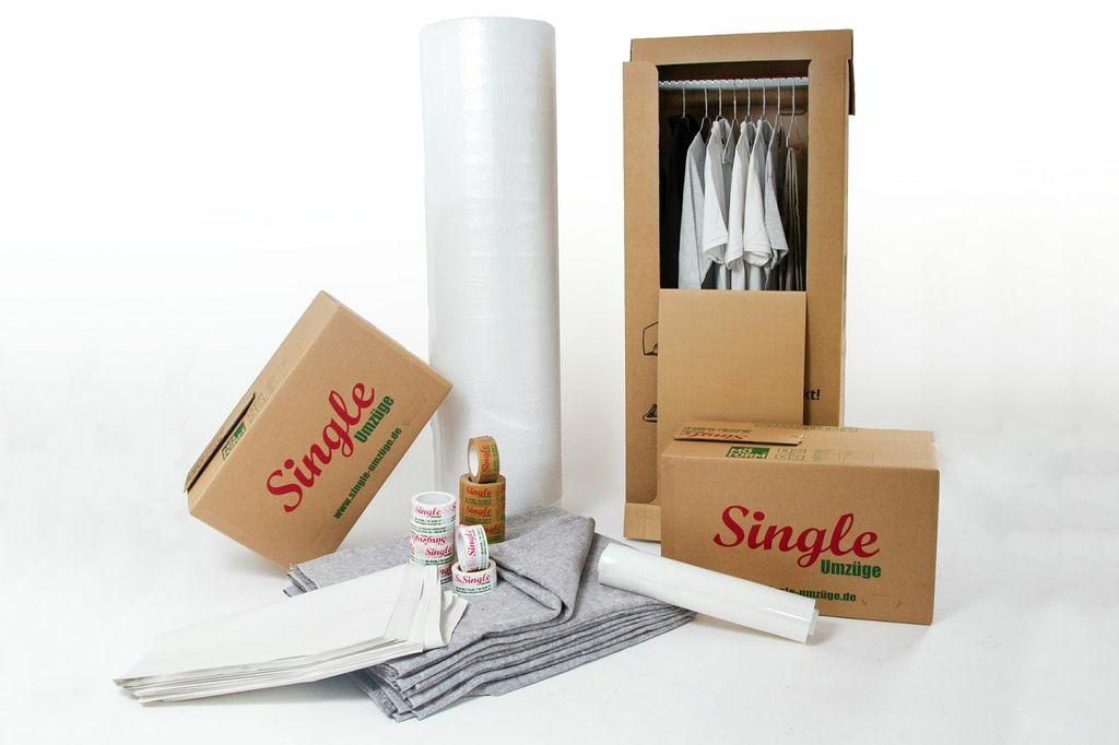 Hochwertiges Verpackungsmaterial - Deutsche Möbelspedition