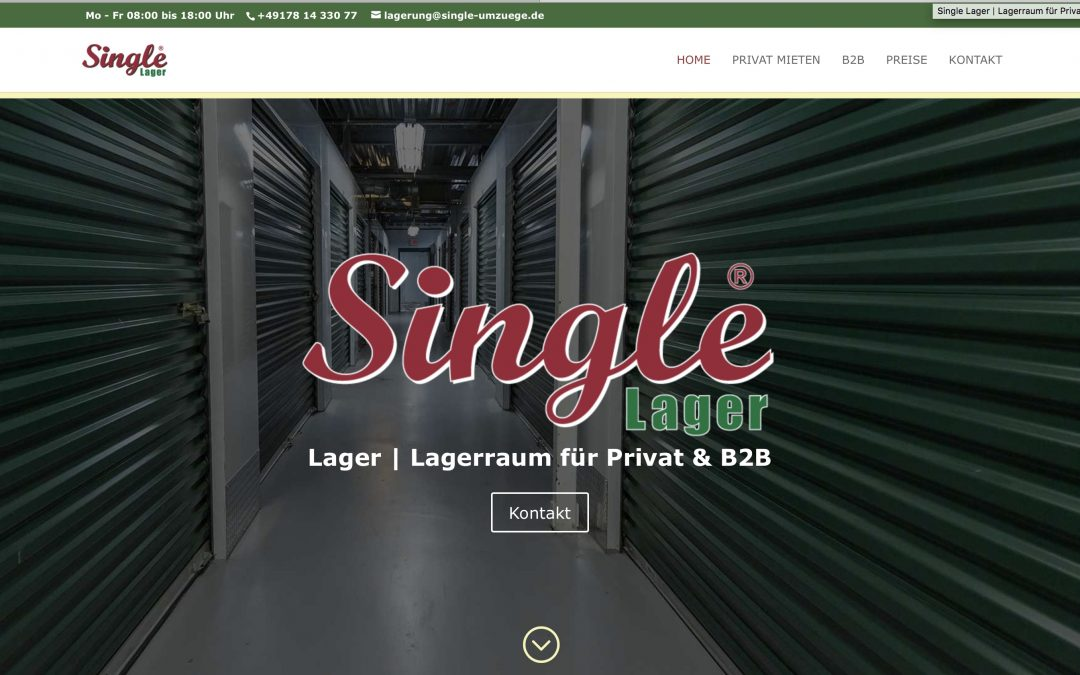 Single Lager – Lagerhaus Frankfurt | Neu-Isenburg